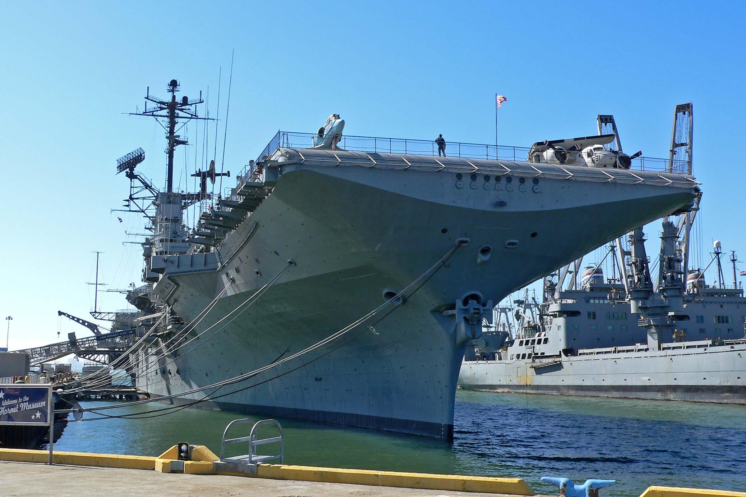 USS Hornet   Alameda, CA Aircraft Carrier Museum