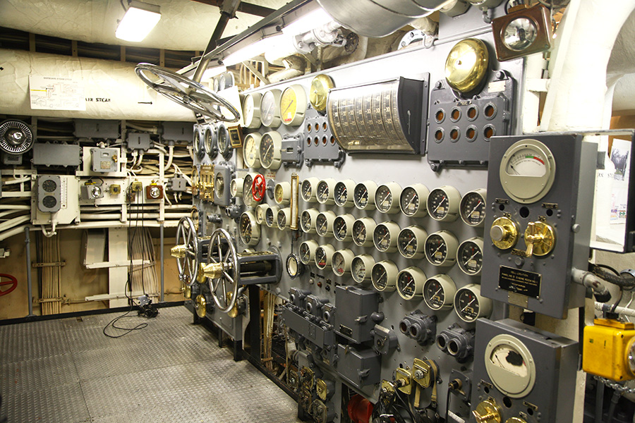 Engine Room 1 Fourth Deck