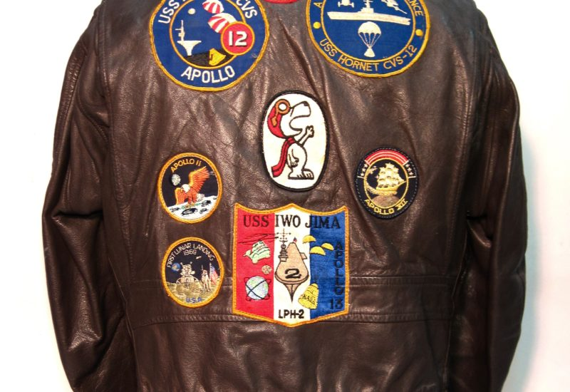 Flight Jacket Back