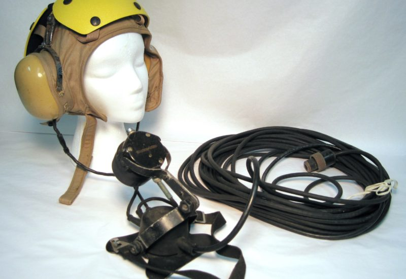Sound Powered Telephone Head Set