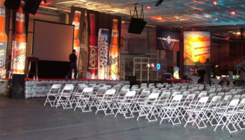Hangar Bay 3 is perfect for a large presentation.