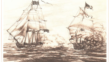 The third Hornet, a brig that served from 1805-1829.