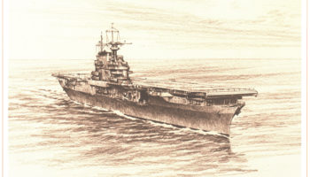The seventh Hornet was CV-8, an aircraft carrier that served in the beginning of WWII, 1940-1942.
