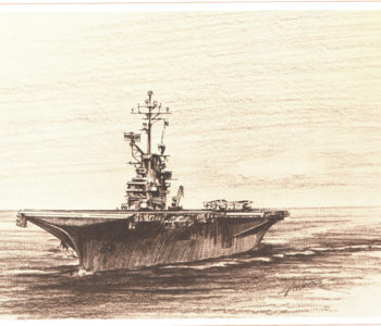The eighth and final ship named Hornet, CV-12.