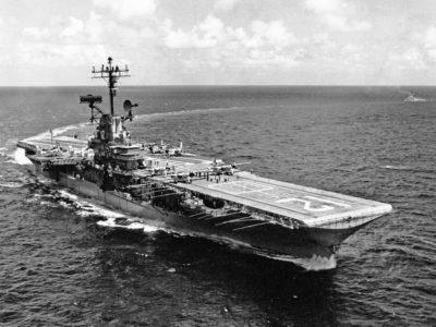 USS Hornet CVS-12.
