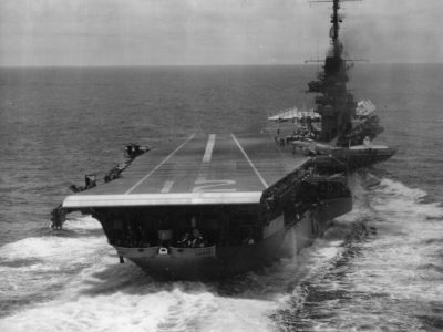 This WestPac deployment (6 January–2 July 1958) was Hornet's last as an attack carrier (CVA). She was reclassified as an ASW support carrier and redesignated CVS-12 on 27 June 1958.