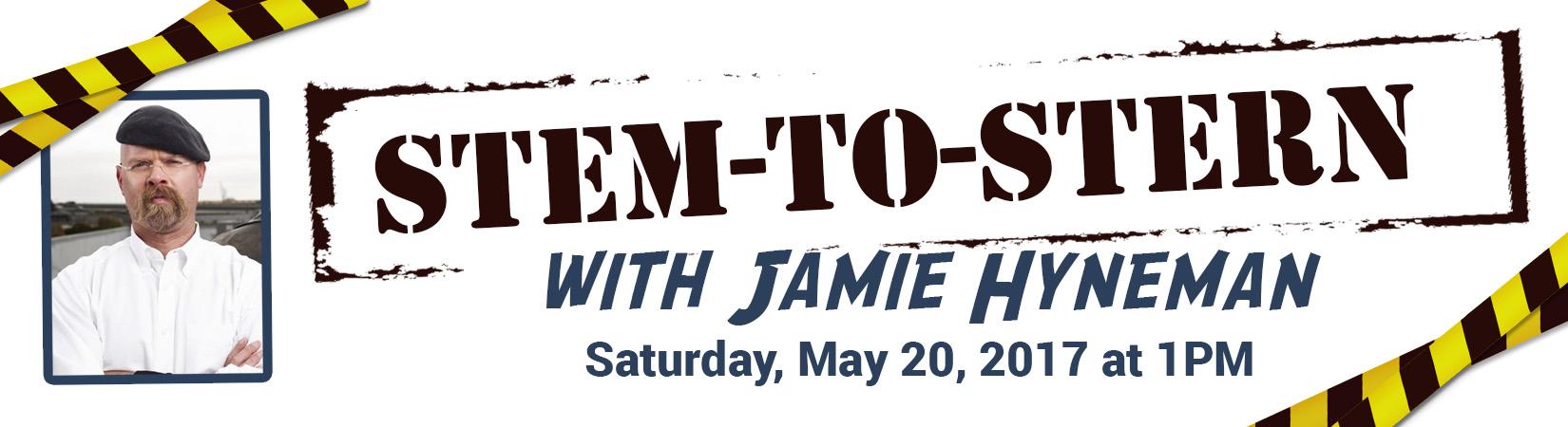 2017-STEM-to-Stern with Jaime Hyneman-Event Banner